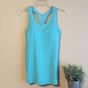 Lululemon Blue Workout tank
